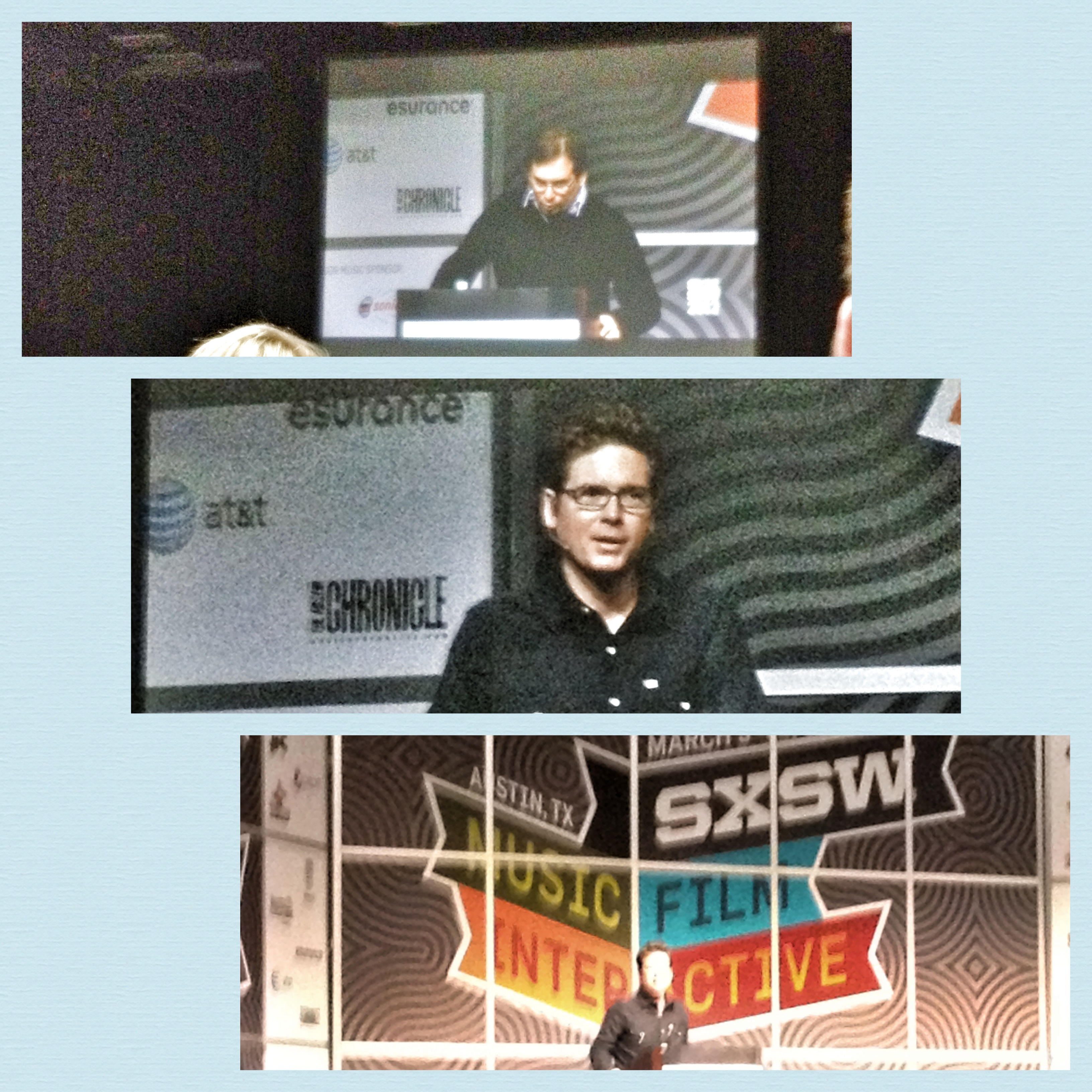 QuiBids attends Biz Stone Speech at SXSW