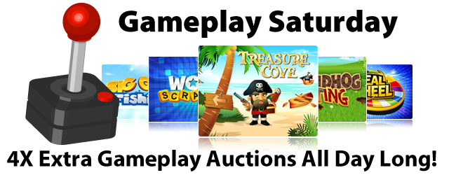 May 18, 2013 - QuiBids' Gameplay Saturday Event