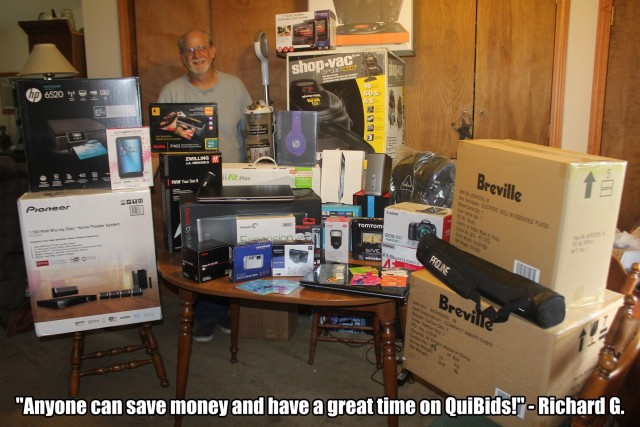 QuiBids' QuiBidder of the Week - Richard G.