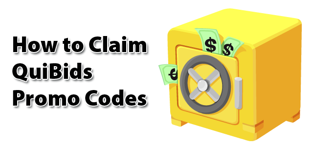 How to claim Coupon Codes on QuiBids for Free Bids