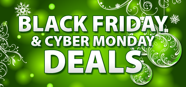 Black Friday and Cyber Monday Deals on QuiBids